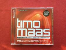Mixmag CD Timo Maas Maasterpieces 70-minute House & Breaks Mix