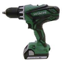 """Hitachi DS18DGL 18-Volt 1/2"""" Li-Ion Cordless Drill & BSL1815X w/Full Warranty"""