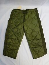 OD Pant Liner Cold Weather M-65 Field Pants Liner Medium Long NEW