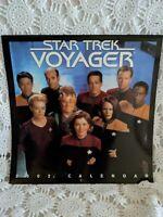 Vintage 2002 Star Trek Voyager Calendar