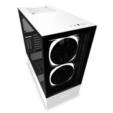 CA-H510E-W1 - NZXT H510 Elite Midi Tower White-Mid-tower ATX Case, SGCC Steel/Te