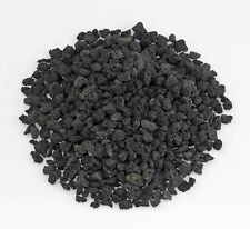 American Fireglass Small Black Lava Rock (1/4-1/2) 10 lb Bag