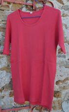 Tee-shirt rouge, taille L, 100% coton, parfait état