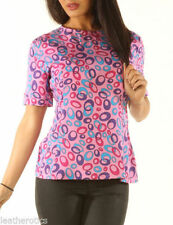 Short Sleeve Regular Spotted Jumpsuits & Playsuits for Women