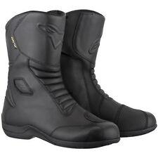 Bottes imperméable pour motocyclette homme 100% cuir