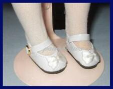 """WHITE Patent Mary Jane SHOES fit 11"""" LISSY 12"""" Marley Modern 9"""" Patsyette"""