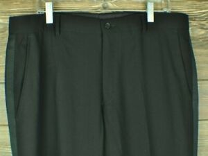 Emporio ARMANI Black Wool Dress Pants 36 w