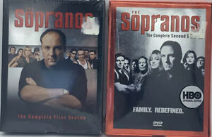 Sopranos DVDs Complete Seasons 1 and 2 New and Sealed  Discs in Box Sets