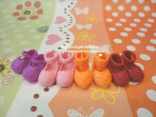 Doll Shoes ~ Middle Blythe Cute Doll Shoes 4PAIRS SET #M-110 NEW
