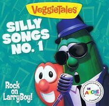 Veggietales - Silly Songs No. 1 - Rock on Larry Boy CD Neu Veggie Tales