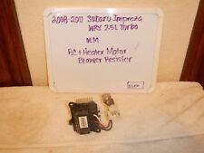 2008- 2011 Subaru Imrpeza WRX 2.5L Turbo OEM AC Heater Motor Blower Resister