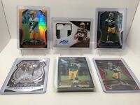 Packers 20 Card Lot Aaron Rodgers, Auto, Inserts, Rookies, Relic