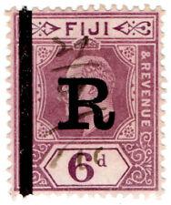 (I.B) Fiji Revenue : Stamp Duty 6d (1910)