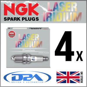 4x NGK IKR9J8 (93311) Laser Iridium Spark Plugs For FIAT 595 1.4 02/15-->