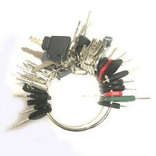Lot of 50 Heavy Equipment Key Construction Key Ignition Key For Caterpillar JCB