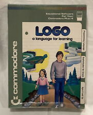 LOGO - A Language for Learning - Commodore Plus/4 Cartridge - NEW