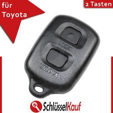 Toyota Auris Avensis Auto Schlüssel Gehäuse 2 Tasten Funk Fernbedienung Neu