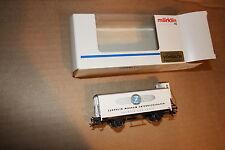 HO scale Marklin Box car # 73008 NIB Mint Zeppelin Museum Friedrichshafen