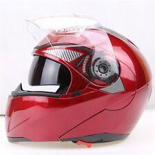 New 5 Colors DOT Dual Visor Flip Up Motorcycle Helmet Full Face Motocross 2017