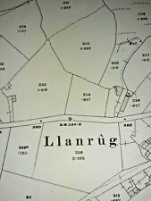 OLD ORDNANCE SURVEY MAP STANLEY 1915 SHIELD ROW TANFIELD LEA COLLIERY KIPHILL