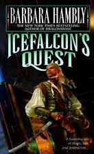 The Darwath Trilogy, Icefalcon's Quest by Barbara Hambly 1998 Del Rey Paperback