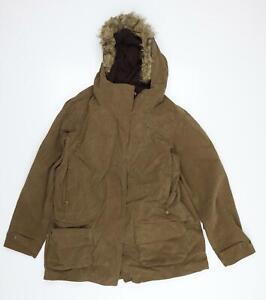 Rohan Womens Brown   Overcoat Coat Size L
