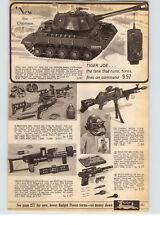 1966 PAPER AD Toy Guns Johnny Seven Crime Buster Screaming Mee Mee Bonanza