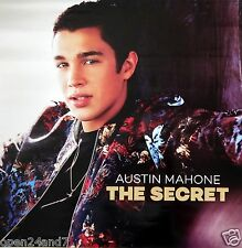 "AUSTIN MAHONE ""MY SECRET"" THAILAND PROMO POSTER - Album Cover Artwork"