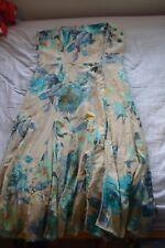 Coast Strapless Dress size 10