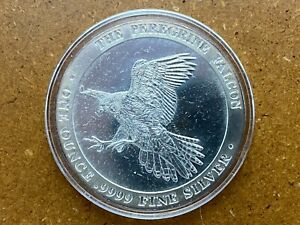 Baird & Co The Peregrine Falcon 1 oz .9999 Silver Round