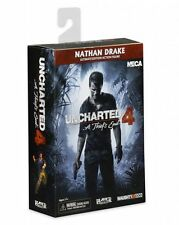 "UNCHARTED 4 NATHAN DRAKE ULTIMATE FIGURA 18CM NECA ""NUEVA"" NEW & SEALED ORIGINAL"