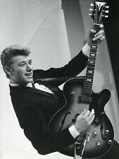 JOHNNY HALLYDAY 60s VINTAGE PHOTO ORIGINAL #25