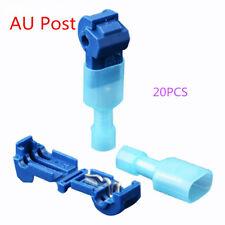 20Pcs Car Auto Quick Splice Lock Wire Crimp Terminal Electric Cable Connector