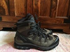 Salomon Quest 4D 2 GTX Boots UK9.5 Hiking / Walking Green