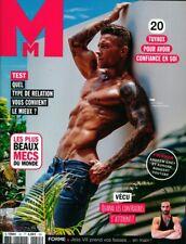 french GAY magazine M MENSUEL n°55 TONI  2019 new