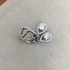 Drop Earring 2.34 Ct Near White Real Moissanite 925 Sterling Silver