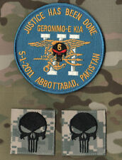 SEAL OPERATION NEPTUNE SPEAR ST6 PATCH: 5/2/2011 Osama bin Laden 'Geronimo' KIA