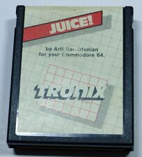 Commodore 64/128: JUICE! - C64 Cartridge - TESTED - FREE shipping - TRONIX