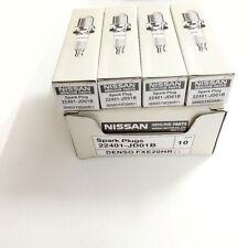 4x Iridium 22401-JD01B FXE20HR11 Spark Plug for Nissan Altima NV200 Sentra Versa