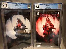 Dark Red #1 Gotham Central Variant Set CGC 9.8