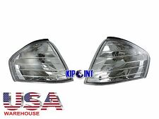 For Mercedes Benz Corner Light Lamps R129 SL320 SL500 1989-2002 Crystal To USA