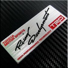TRD Sport Emblem Badge Decal Sticker Fit for Toyota Supra Camry 4Runner Corolla