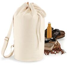 EarthAware™ Organic Sea Bag Sailor Duffle Sports Gym shoulder Rope drawcord