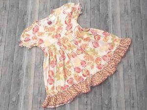EUC Matilda Jane girls size 4 Serendipity Rose Parade lap dress -B37