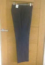 Charcoal Grey Riley Micro Check Trousers By Kin At John Lewis BNWT - 30 Short