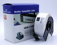DK-1201 Compatible Brother DK11201 Printer Label Continues Roll White 29 x 90mm