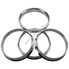 ALUMINIUM HUB CENTRIC RINGS OD=74.1 ID=72.6mm WHEEL RIM BMW E81 E90 E36 E46 E60