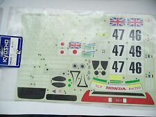 KYOSHO 39533-1 Stickers NSX LMGT1