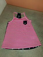 Toddler Girl *4/5 XS* American U.S. Flag Patriotic Racerback Tank Top Circo