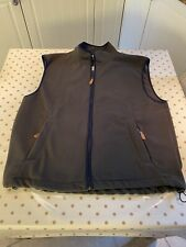 Joseph Turner Classic British Clothing Mens Gilet Zipped Fastening Size XXL